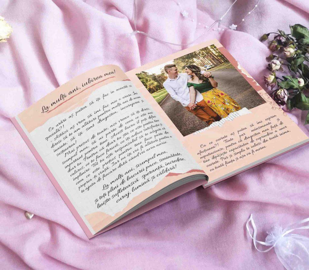 carte personalizata pentru iubiti Povestea noastra de dragoste - cadou pentru cuplu