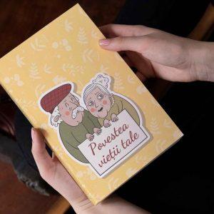 povestea vietii tale - carte personalizata pentru mama sau bunica