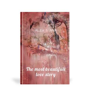 Carte personalizata The most beautifull love story