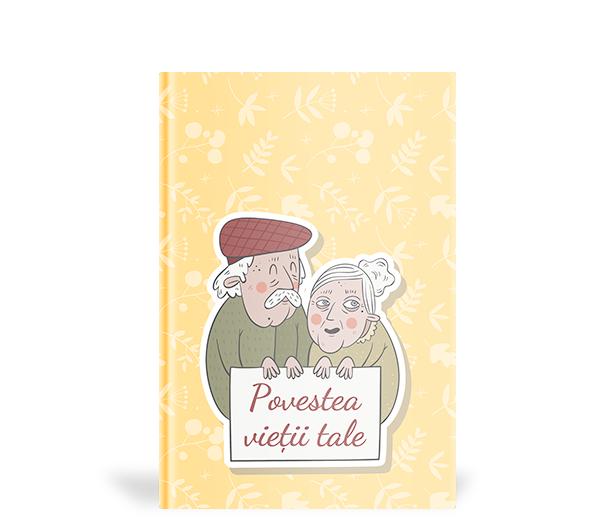 Produs Carte personalizata Povesteea vietii tale - cadou pentru mama sau bunica