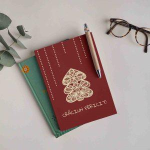 Craciun fericit! - carte personalizata cu ocazia Craciunului - cadou de Craciun