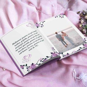 Multumesc ca existi in viata mea - carte personalizata pentru cupluri - cadou pentru iubiti sau soti