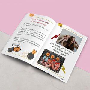 Unei prietene dragi - carte cadou personalizata pentru prietena