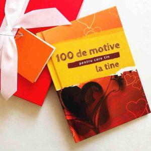 carte personalizata pentru iubit - cadou pentru iubit - 100 de motive pentru care te iubesc