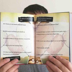 carte personalizata pentru iubit - cadou pentru iubiti - 100 de motive pentru care te iubesc