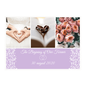 Album de nuntă The beginning of our forever